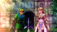 The Legend of Zelda series and Hyrule Warriors, Link and Princess Zelda - they're destined to be together, as said in the game :)