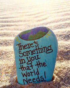 Need inspiration for your next rock painting design? Try inspiring others with an inspirational painted rock quotes! I have included my Top 35 along with over 100 more quotes for your rock painting. Pebble Painting, Pebble Art, Stone Painting, Painting Art, Painting Quotes, Painting Videos, Rock Sayings, Rock Quotes, Quotes On Rocks