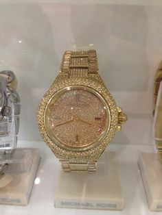 Sparkly Michael Kors watch