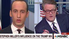 """You're a DISGRACE!"" Morning Joe ATTACKS Donald Trump's advisor Stephen Miller - YouTube"