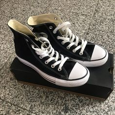 bb8d1dbe9379 7 Best Black hi top converse images