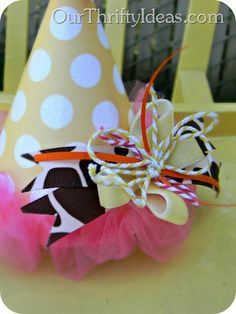 Tutorial | DIY Birthday Party Hat · Scrapbooking | CraftGossip.com