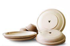wooden plates matali crasset - April and MayApril and May