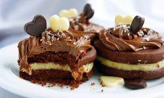 Biscuits au chocolat à la crème de noix de coco trop bon & facile a préparer