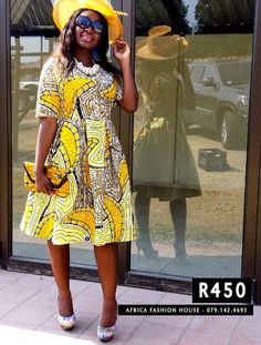 African Print Dress by Africa Fashion House - 079.142.4693