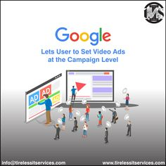 Google Ads is allowing advertisers to set conversion actions at the campaign level for video ads.  #ThursdayMotivation #GoogleAds #GoogleAdwords #videoads #conversion #campaigns #advertisement #UpdateBlog #videomarketing #DigitalMarketing Thursday Motivation, Website Design Services, Google Ads, Digital Marketing Services, Web Development, Service Design, Campaign, Web Design, Design Web