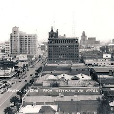 Downtown Phoenix, Arizona in the 1930s