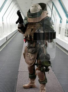 This is bad ass. #cod #juggernaut #cosplay #modern warfare