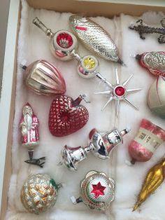 Addison Studio Sale German Christmas Ornaments, Old Christmas, Very Merry Christmas, Retro Christmas, Vintage Holiday, Beautiful Christmas, Christmas Tree Decorations, Christmas Tree Ornaments, Vintage Ornaments