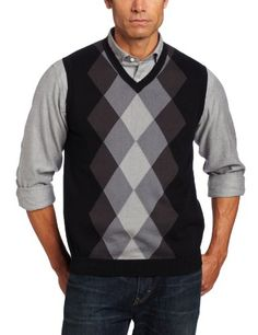 John henry men's sweater vest