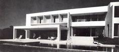 Casa Salcedo en el Lago de Chapala, calle Hidalgo, Riberas del Pilar, Ajijic, Jalisco, México 1971   Arq. Fernado González Gortázar -  Casa Salcedo on Lake Chapala, called Hidalgo, Ribera del Pilar, Ajijic, Jalisco, Mexico 1971