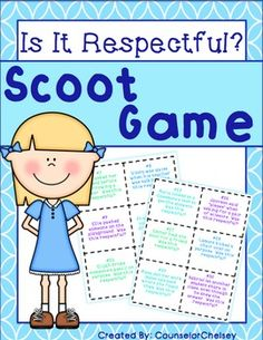 A fun, active way to teach students how to be respectful and the difference between respect and disrespect!