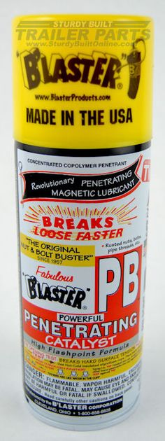 PB Blaster is Amazing!!!  Liquid Wrench is no match for the Blaster.  If you have bolt, nut or screw that is rusted and seized together?  This is what you need.  It really works !!!