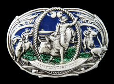 Belt Buckle Rodeo Cowboys Western Bull Riders Rodeo Belt Buckles, Cool Belt Buckles, Rodeo Cowboys, Western Belts, Western Wear, Bull Riders, Cowboy And Cowgirl, Horse Riding, Westerns