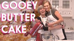 """Baking Aunt Nancy's famous Gooey Butter Cake in my kitchen in St. Louis. This delicious """"breakfast pastry"""" is a St. Louis classic. DISCLAIMER: this recipe ma..."""