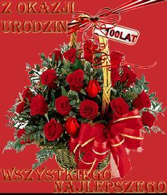 Happy Birthday Wishes Cards, Happy Birthday Flower, Happy Birthday Quotes, Beautiful Gif, Beautiful Roses, Good Morning Flowers Gif, I Love You Pictures, Beautiful Pictures, Christmas Wreaths
