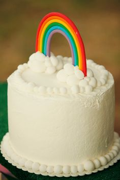 CAKE. | events + design: A Rainy Day Rainbow Party
