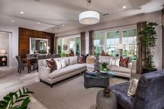 Camellia at Rosedale - new homes Azusa - plan 2 living