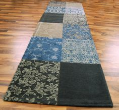 Lovely Teal Hall Runner