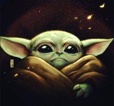 Star Wars Art Baby Yoda The Mandalorian Star Wars Baby, Star Wars Drawings, Art Drawings, Yoda Pictures, Star Wars Zeichnungen, Yoda Drawing, Yoda Meme, Star Wars Wallpaper, Iphone Wallpaper