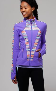 zip up when the night gets chilly. | Perfect Your Practice Jacket