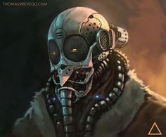 cyberpunkvisions:  Mask1 - Thomas Wievegg...