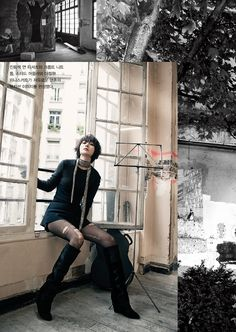 More Of Bae Doo Na In Vogue Korea's November 2013 Issue | Couch Kimchi