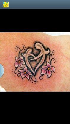 Mother/daughter Tattoo Idea