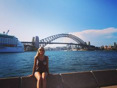 We got so lucky with the weather today can't wait to see more of Sidney I'm already in love with this city  #Australia #Sydney #sydneyharbour #sydneyharbourbridge #backpacking #travel #traveling #socool #summer by sian.ejones http://ift.tt/1NRMbNv