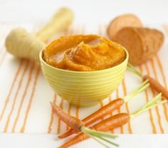 Pear and butternut squash purée