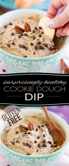 Made with wholesome ingredients like chestnuts, cashews, dates, coconut, honey and cacao butter, this surprisingly healthy Cookie Dough Dip tastes so good, no one will ever guess that it's this healthy... It would even make for a terrific spread or even a delicious cake frosting!