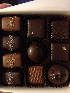 Fran's Chocolates - salted chocolate carmels - yum