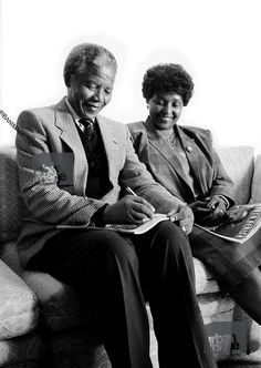 Winnie and Nelson Mandela