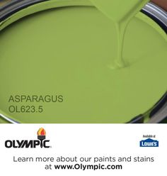 ASPARAGUS OL623.5 is a part of the greens collection by Olympic® Paint.