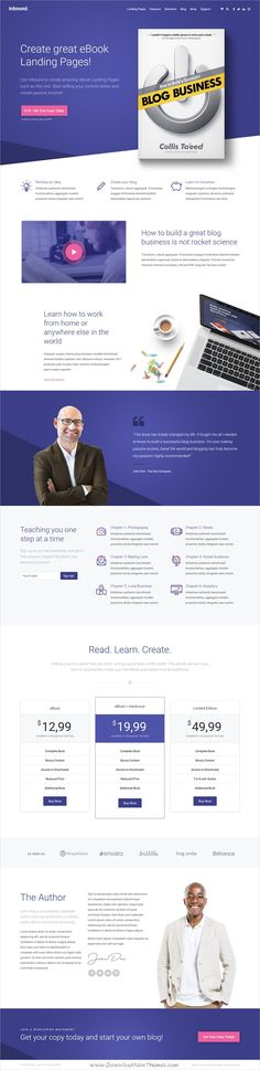 Inbound is stunning, unique and powerful 8in1 #WordPress theme for #eBook #bookshop landing page websites with visual page editor and additional content download now➩ https://themeforest.net/item/inbound-wordpress-landing-page-theme/19349378?ref=Datasata