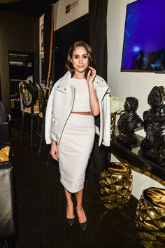 2015 - Meghan attends Toronto fashion week