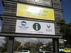 National Parks for Cape Town Tourism Cape Town Tourism, Stuff To Do, Things To Do, Sign Lighting, Local Attractions, National Parks, Boxes, Signs, Things To Make