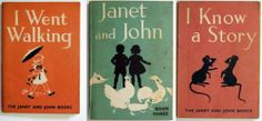 3 x JANET AND JOHN I went Walking Book three I know a Stoy Vintage School books | eBay