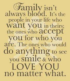 I think about how grateful I am for my family...and everyone else in my life who understands me and appreciates me for who i am.