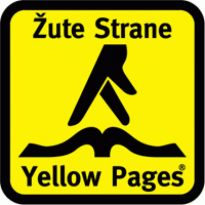 yellow pages - zute strane Logo. Get this logo in Vector format from http://logovectors.net/yellow-pages-zute-strane/