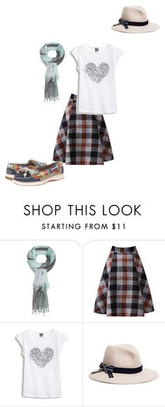 """""""Well..."""" by georgia-girl15 ❤ liked on Polyvore featuring Sandwich, Brooks Brothers and Sperry Top-Sider"""