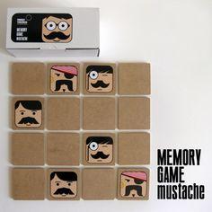 Gioco Memory Game Mustache want it