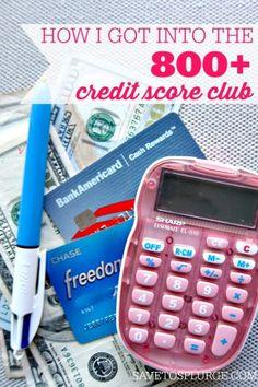 800 credit score club, how i got a 800 credit score