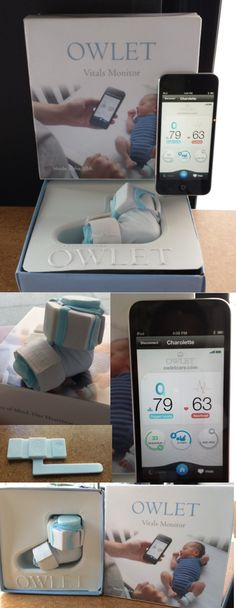 Now that's one smart baby...monitor. The $250 Owlet Vitals Monitor fits gently on a baby's foot and monitors not only the baby's heart rate and skin temperature but also checks the oxygen level, keeps track of sleep quality and can send a rollover alert to your smartphone. The pulse oximeter uses infrared and red light to monitor heart rate and oxygen levels. The iPhone app receives data via Bluetooth from a small sensor. Photos Copyright 2013, Robert S. Anthony, Stadium Circle Features…