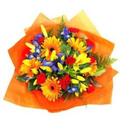 Summer Flower Bouquets - send a floral bouquet from floristnz.co.nz/Bouquets to someone you love!