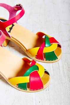 Swedish Hasbeens Kringlan Sandal - Urban Outfitters