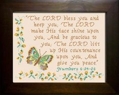 Grace - Name Blessings Personalized Cross Stitch Design from Joyful Expressions Cross Stitch Love, Cross Stitch Charts, Cross Stitch Designs, Cross Stitch Embroidery, Embroidery Patterns, Cross Stitches, Favorite Bible Verses, Love The Lord, Names With Meaning