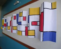 Bulletin Boards to Remember: Mondrian Wave