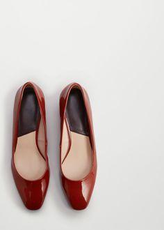 Sapato verniz salto