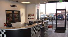 Mechanic shop, automotive shops, automotive decor, garage repair, sales off Automotive Shops, Automotive Decor, Garage Design, Shop Front Design, Garage Repair, Car Repair, Mechanic Shop, Tyre Shop, Repair Shop